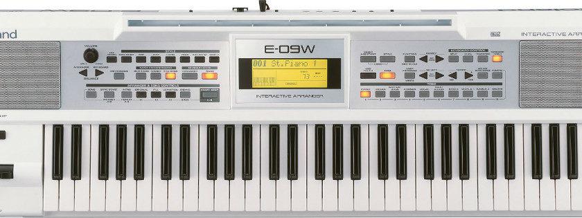 Shop bán đàn organ Roland E-09W chính hãng nhập tại Nhật Bản