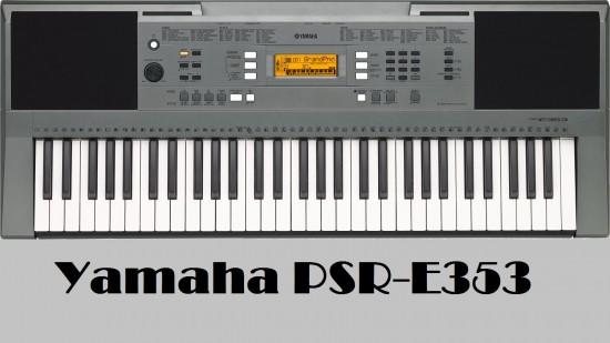 Đàn organ Yamha PSR-E353 giá chỉ 4,300,000 VNĐ