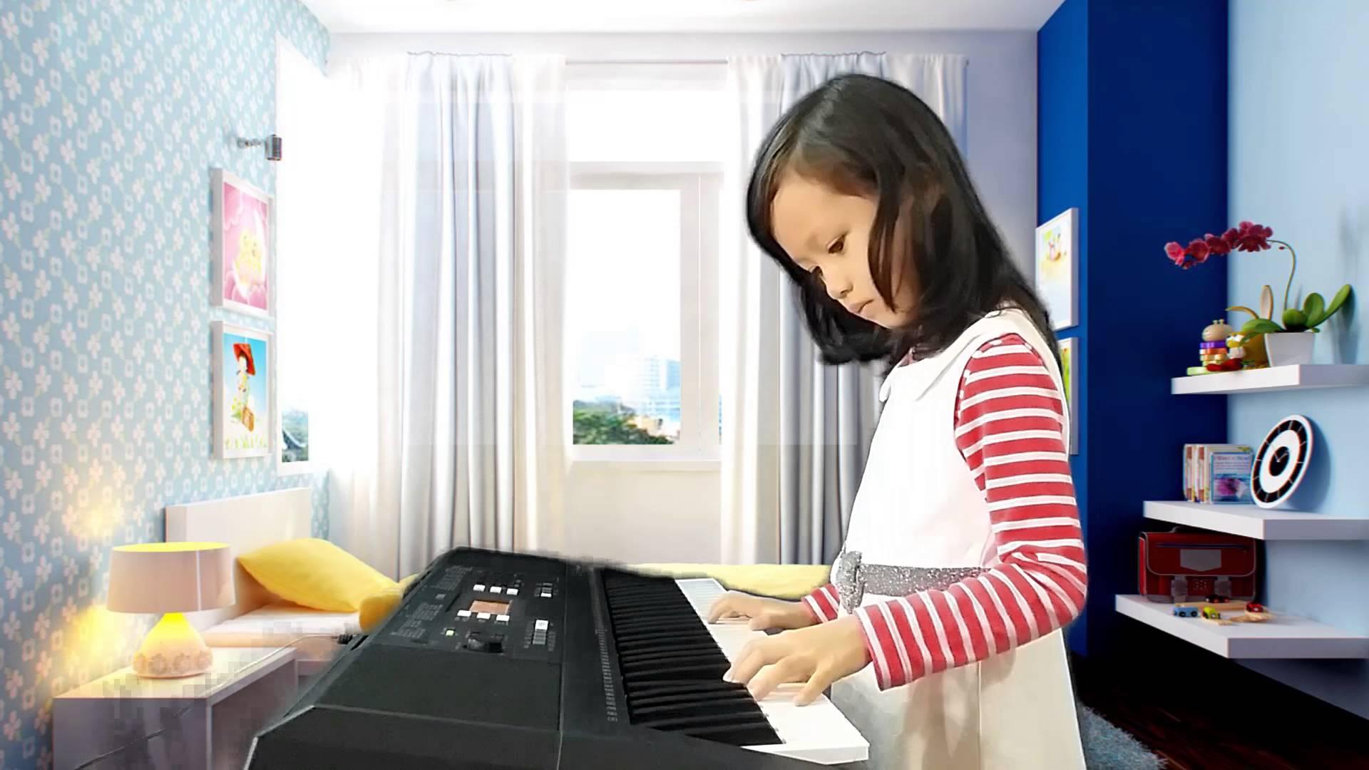 mẫu Organ phù hợp cho các bé 10 tuổi