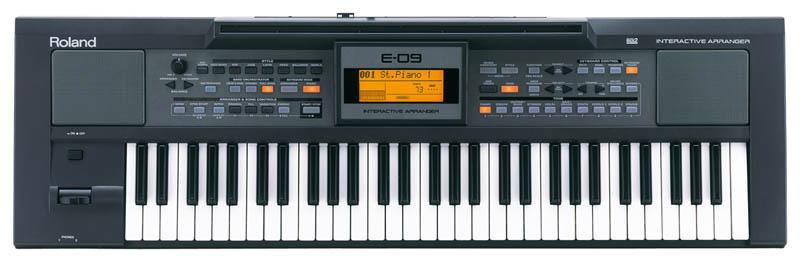 Shop bán đàn organ Roland E-09 chính hãng giá tốt