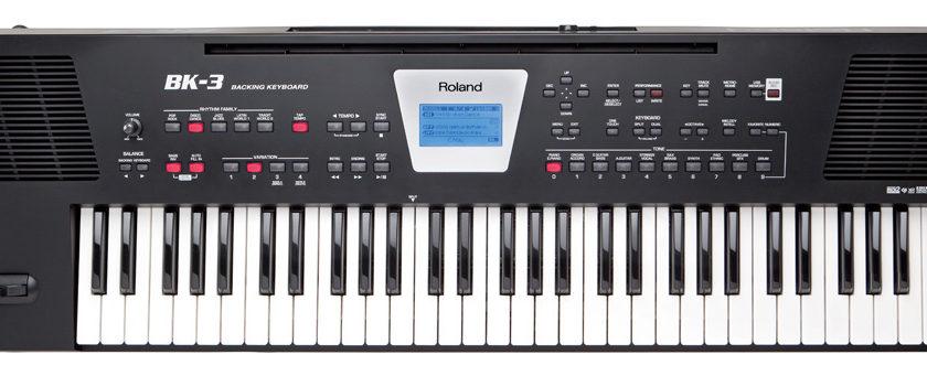 Shop bán đàn organ roland bk3 chính hãng giá tốt