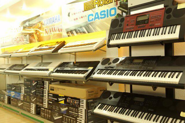 Cửa hàng chuyên bán đàn organ mới chính hãng