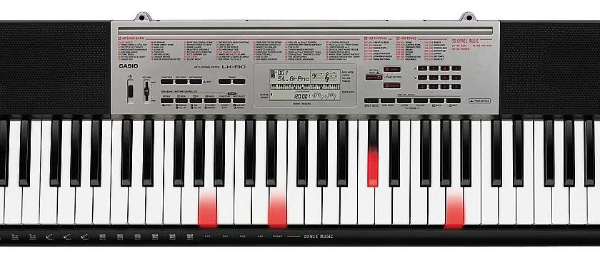 Bán đàn organ casio LK-190 bán phím phát sáng Nhật Bản