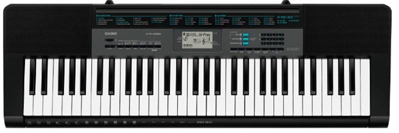 Đàn organ casio CTK-2550 mới nhất 61 phím của Nhật Bản
