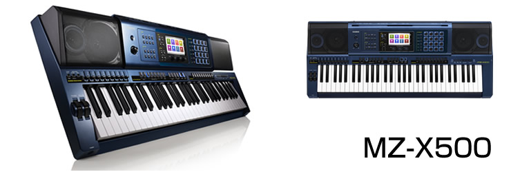 Đàn organ loại tốt Casio MZ-X500 chính hãng nhập tại Nhật Bản