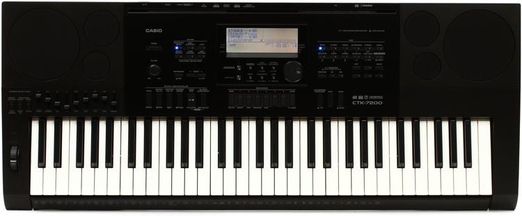 Đàn organ loại tốt casio CTK-7200 dành cho nhạc sĩ