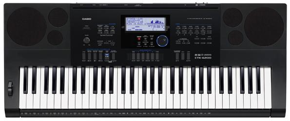 Bán đàn organ casio loại tốt CTK 6200 chính hãng Nhật Bản