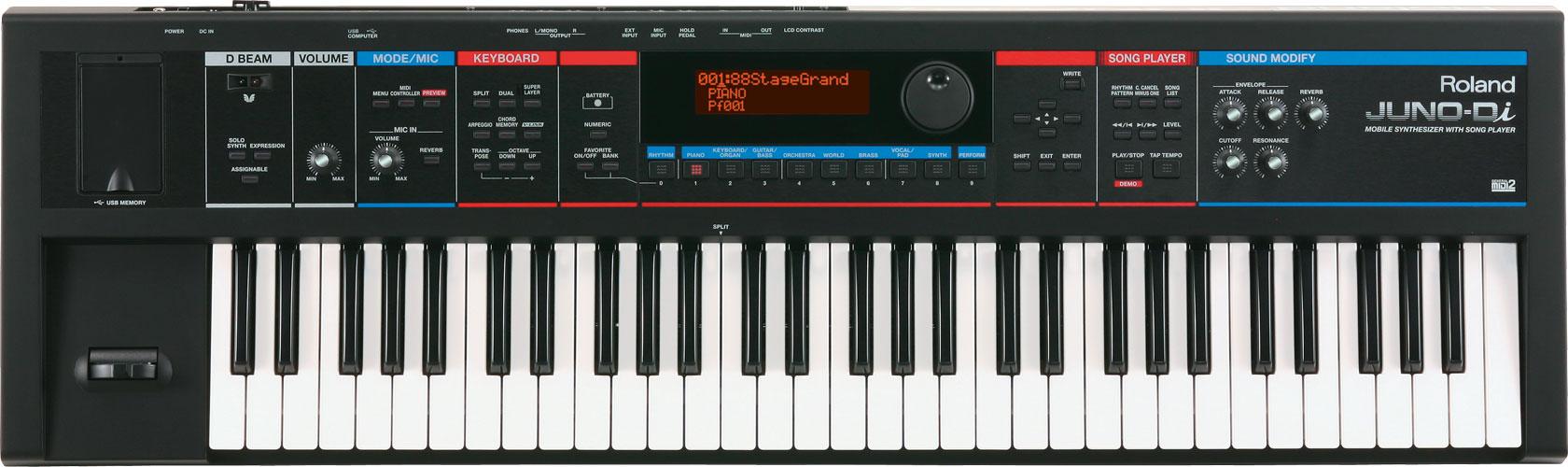đàn organ roland Juno-Di