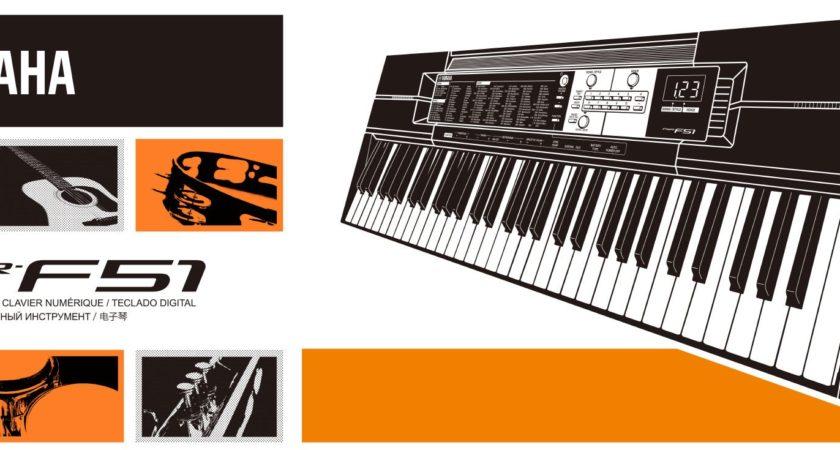 Shop Bán Đàn Organ Yamaha PSR-F51 Nhật Bản 61 Phím