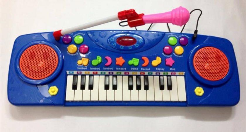 Mách bạn một số cây đàn organ có cổng micro cho trẻ em