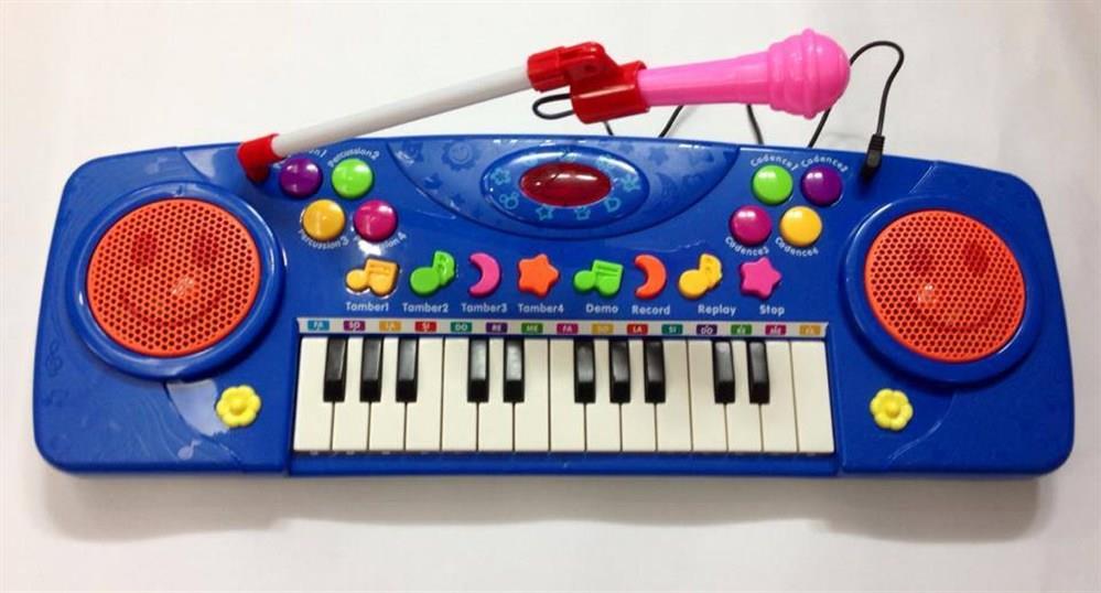 đàn organ có cổng micro cho trẻ em