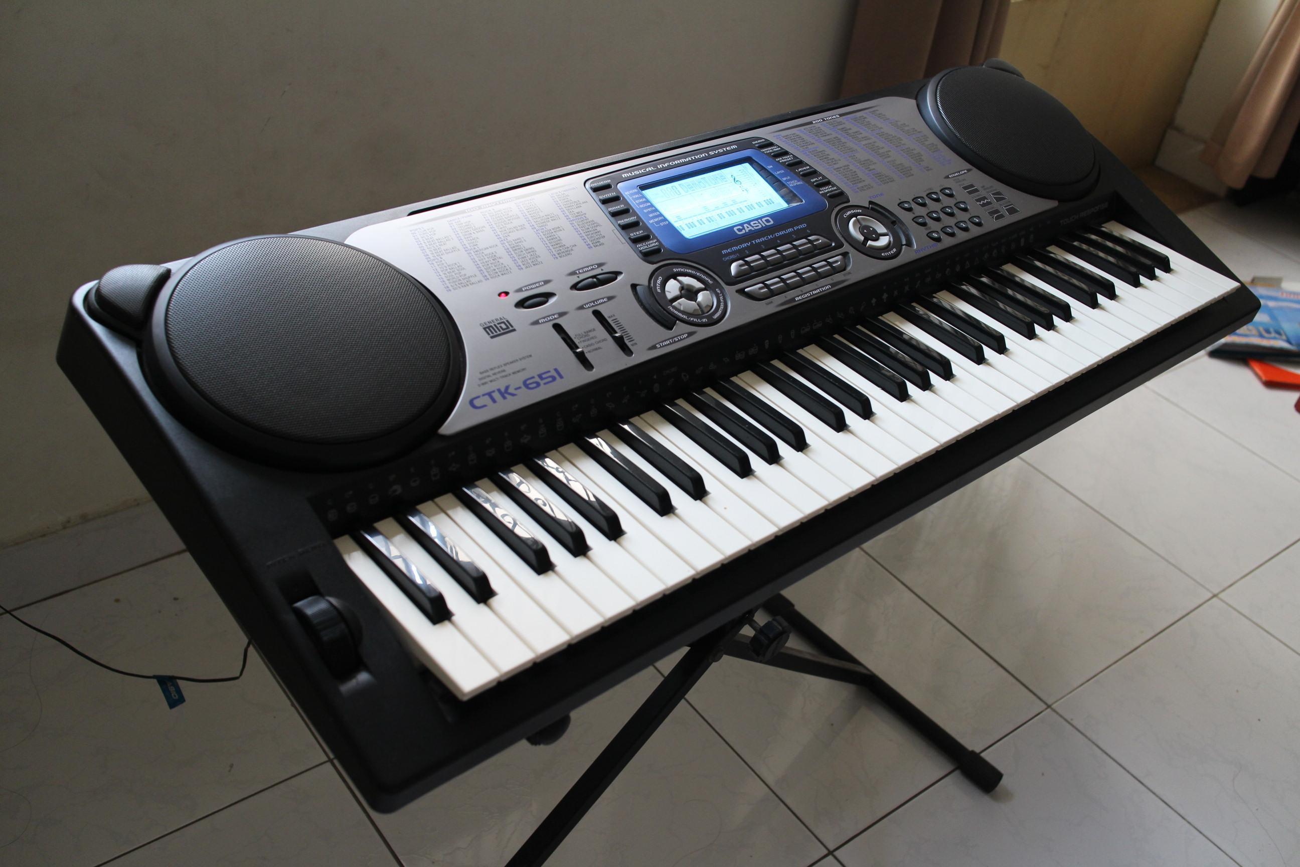 đàn organ casio ctk 651