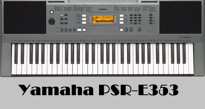 Đánh giá đàn Organ Yamaha PSR-353