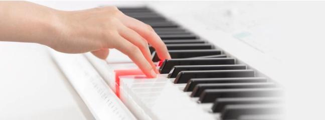 đàn organ casio bàn phím phát sáng