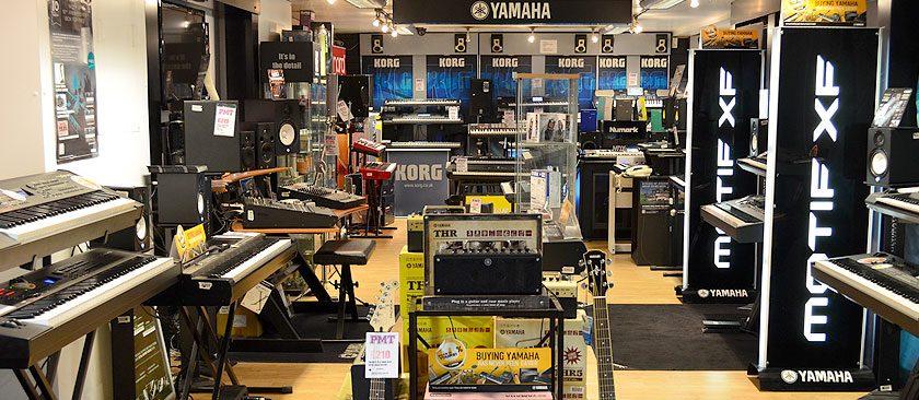 Nơi bán keyboard yamaha chính hãng giá tốt