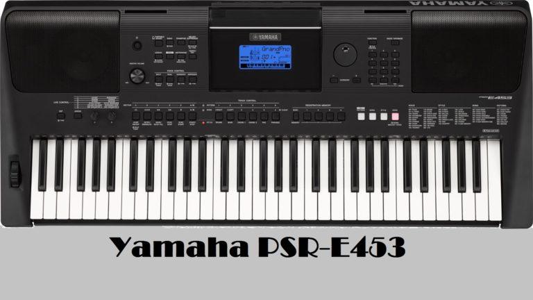 Đàn organ yamahaPSR-E453