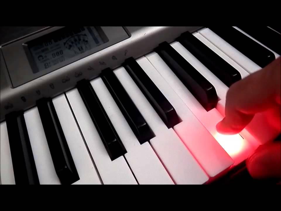 đàn organ phím sáng