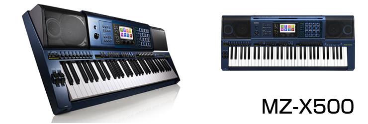 Đàn organ Casio MZ-500 tính năng chồng tiếng và Synth thích hợp với biểu diễn sân khấu