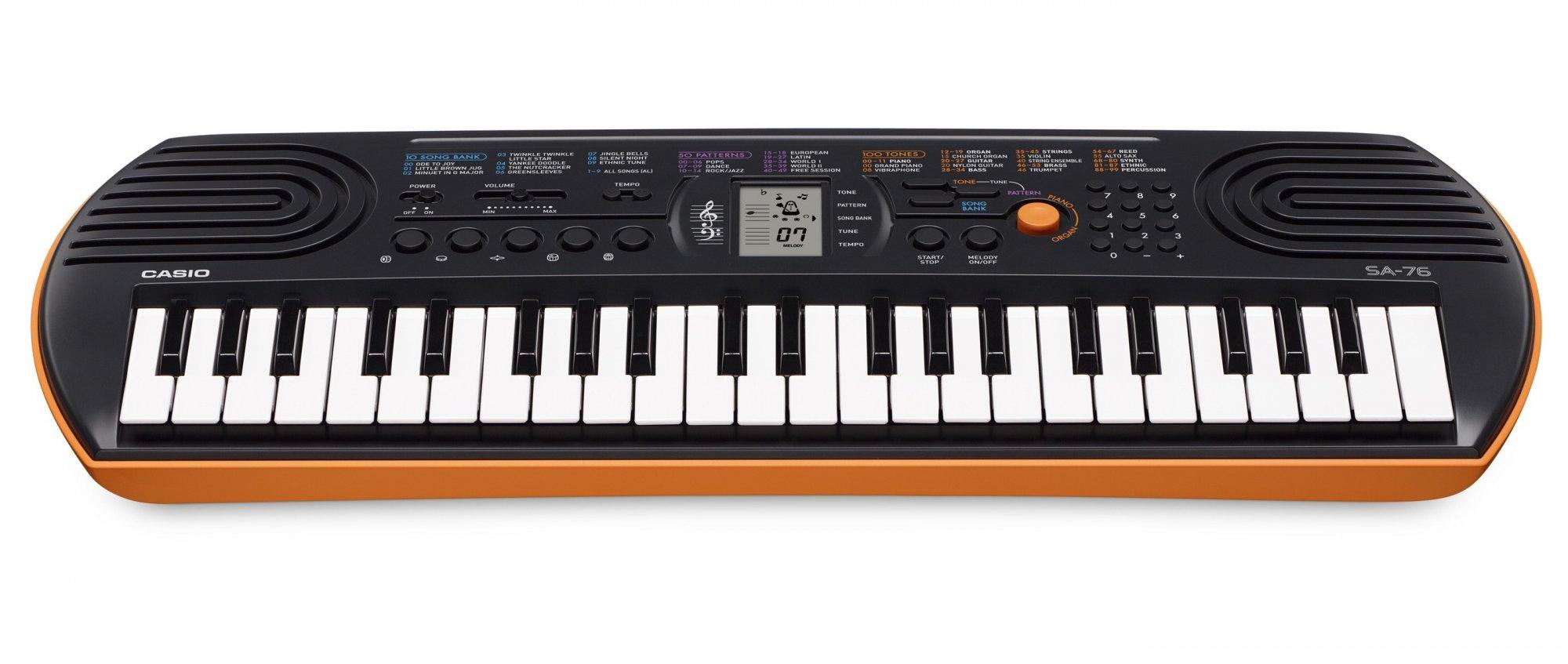 Organ Casio SA76/77/78