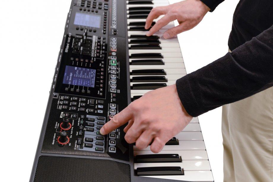 Style và Sampler cho organ Roland E-A7