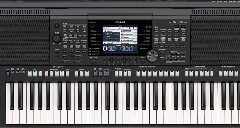 Cây đàn organ Yamaha PSR S750 có gì đặc biệt