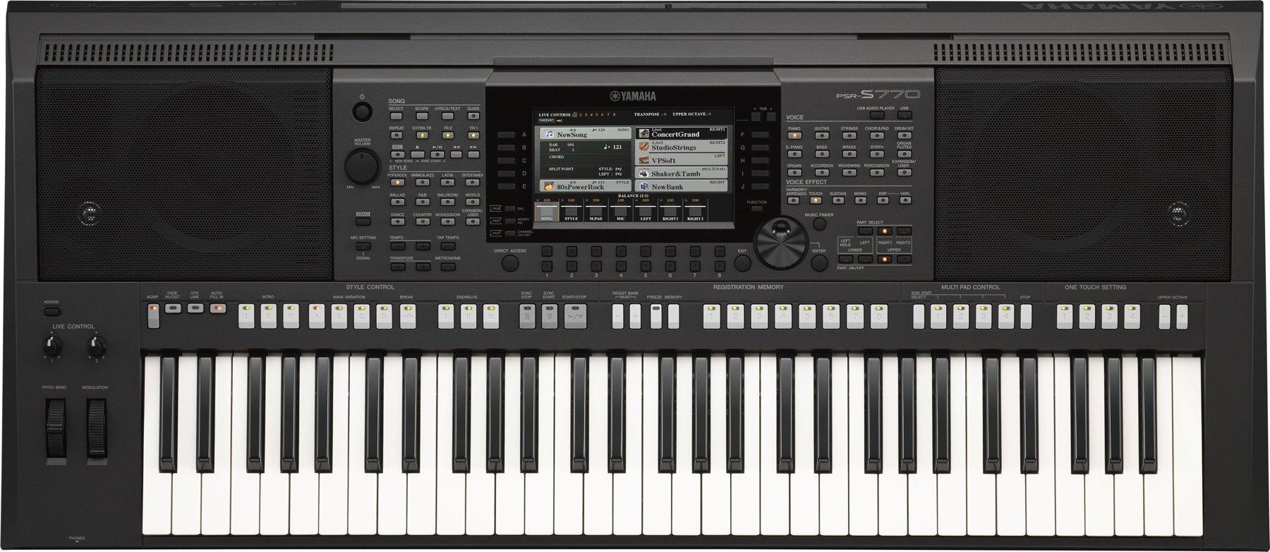 đàn organ Yamaha s770