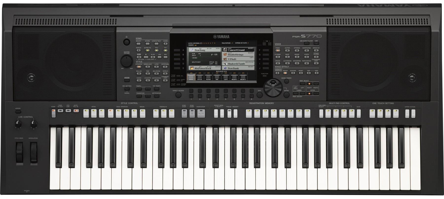 Đàn Piano Điện Yamaha PSR S770