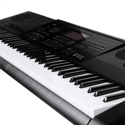 Phím đàn Organ Casio mô phỏng theo phím đàn đại dương cầm