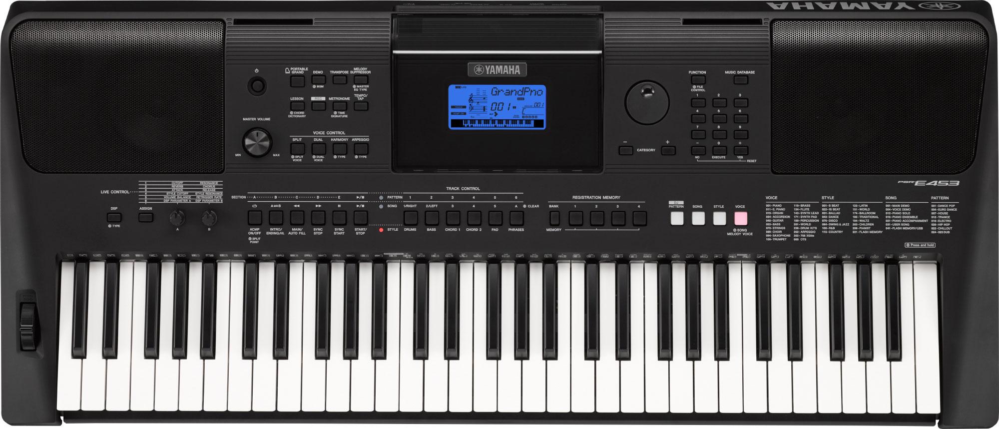 Đánh giá Đàn Organ Yamaha PSR-E453