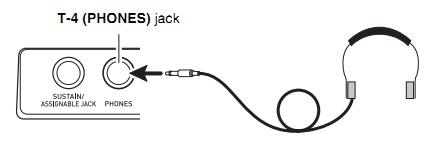 Kết nối với tai nghe