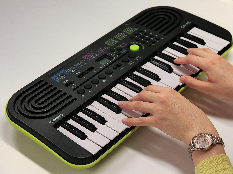 Đàn Organ SA Mini 46 phím cho bé, giá chỉ 1.305.000đ