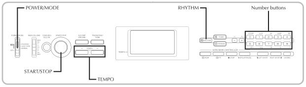 Hướng dẫn sử dụng đàn organ Casio CTK 1250 / Casio CTK 1300