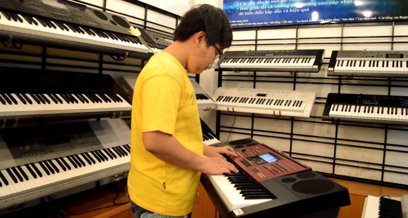 Tất cả sản phẩm đàn organ Casio