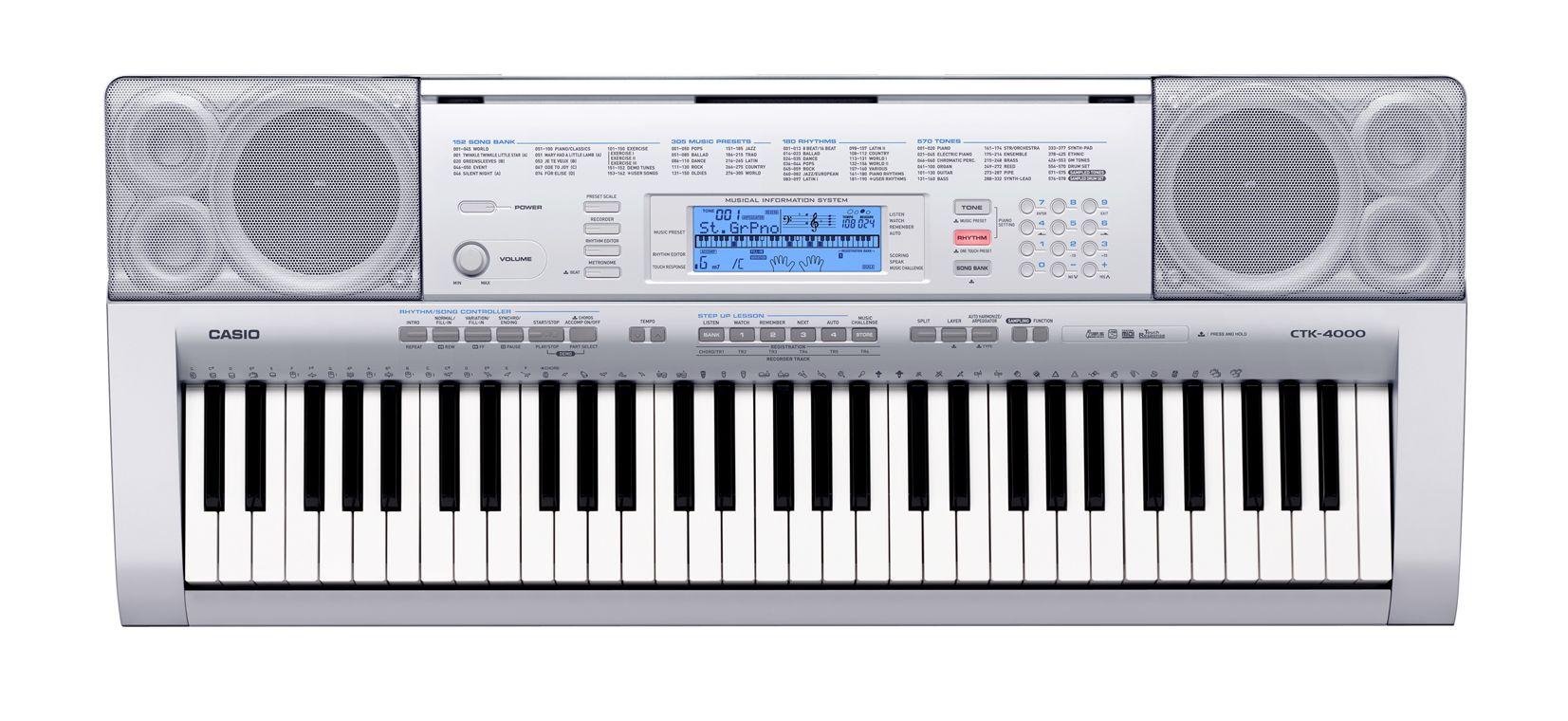 Shop bán đàn organ Casio CTK-4000