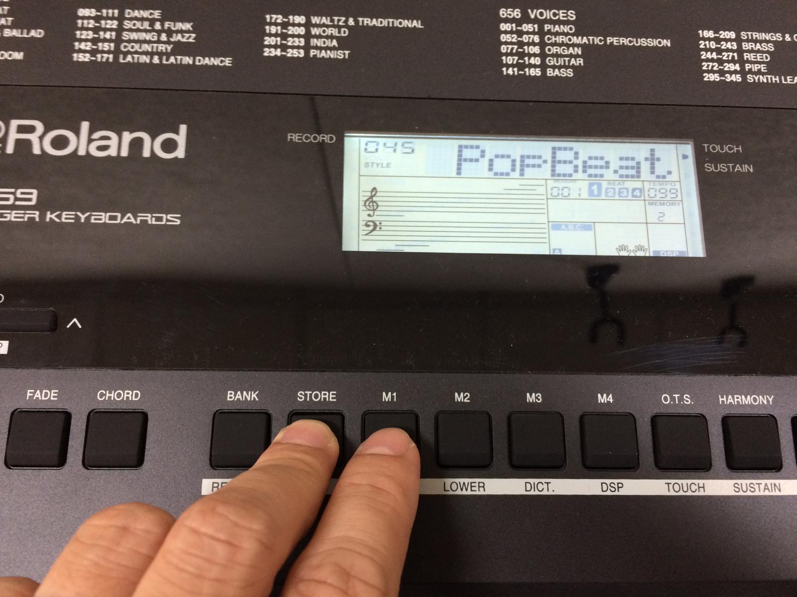 đàn keyboard roland e-x20