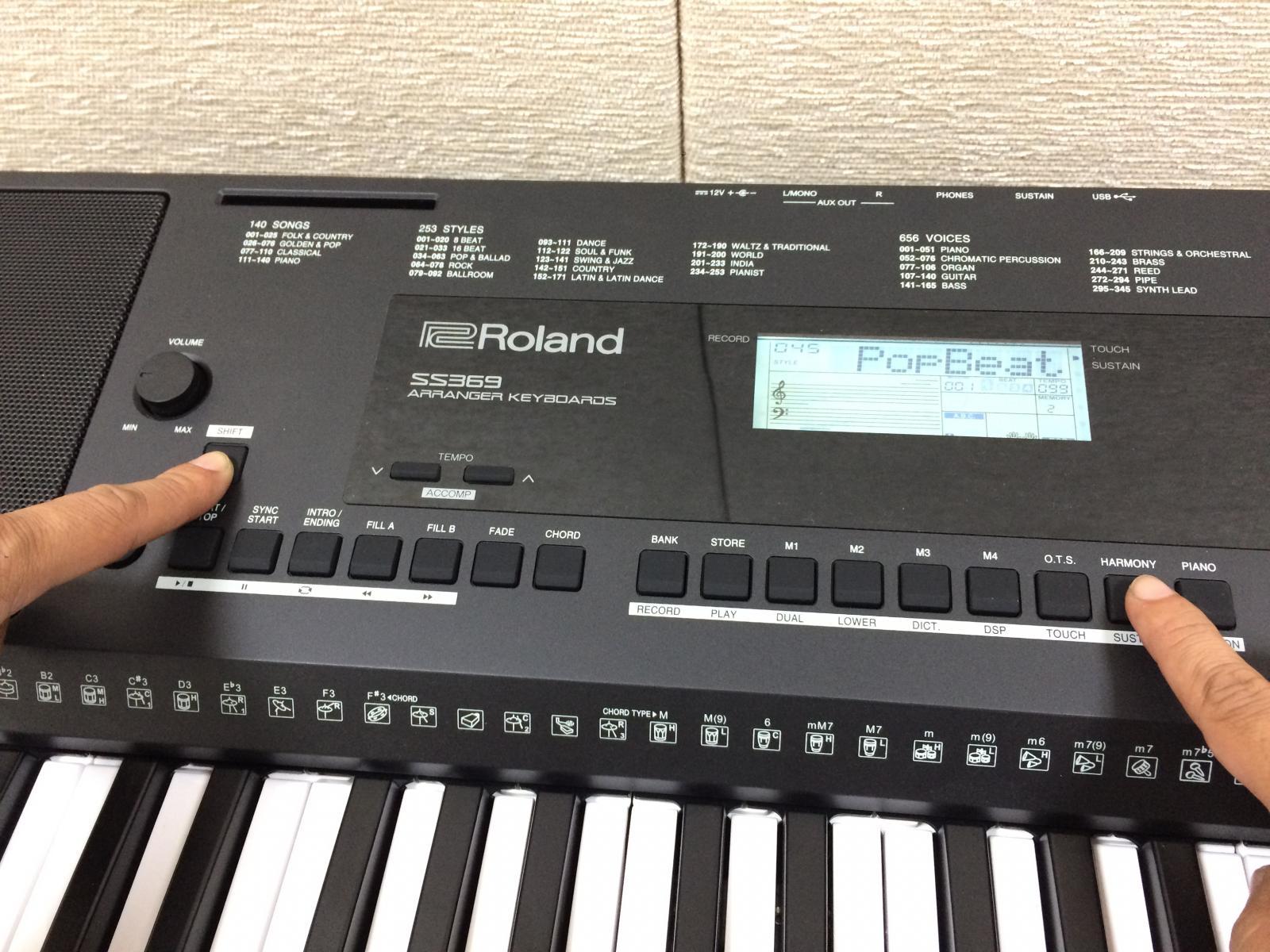 keyboard roland e-x20