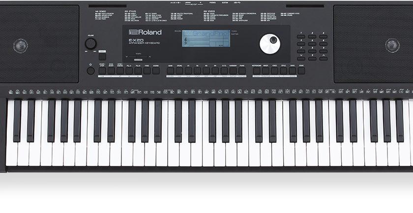 Mua đàn organ roland e-x20 chính hãng ở Biên Hòa – Đồng Nai
