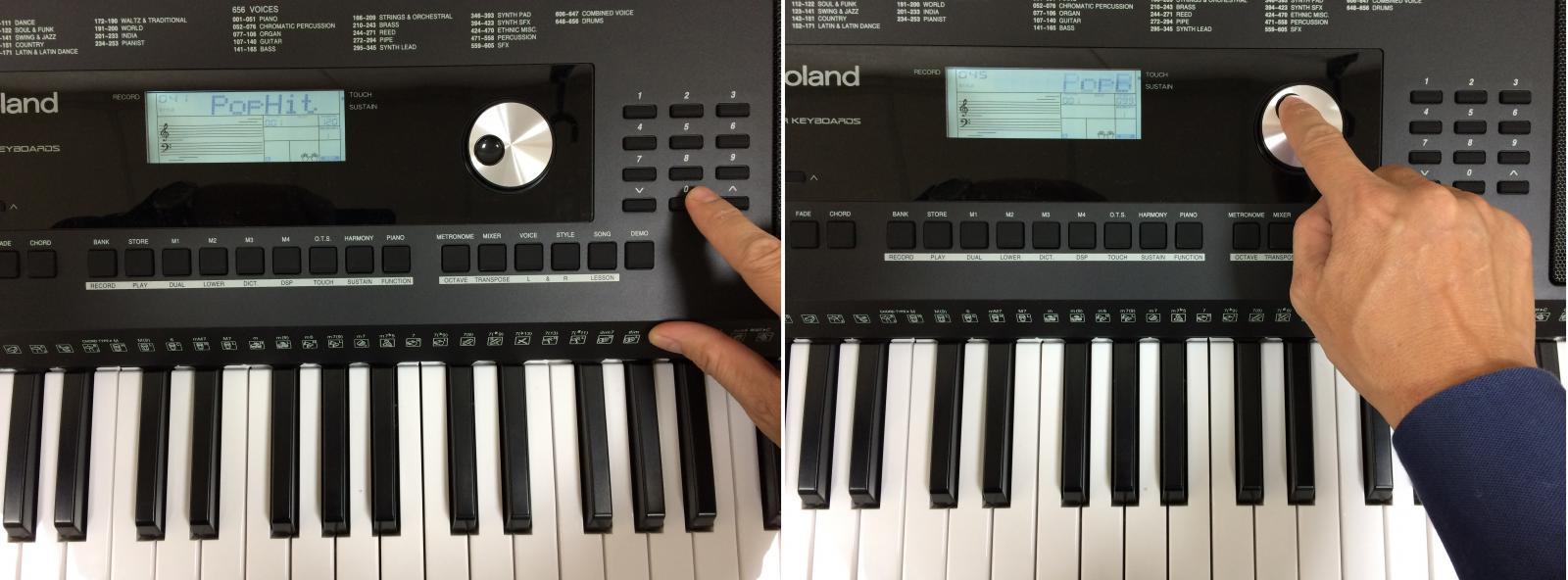 organ roland e-x20