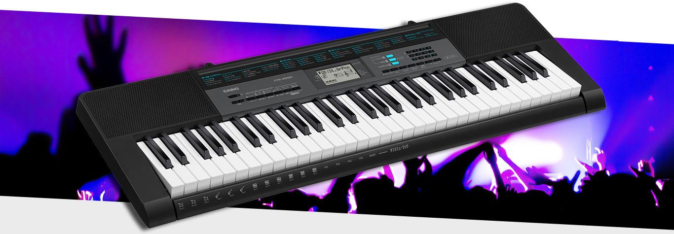 Đánh giá đàn organ Casio CTK 2500/CTK 2550