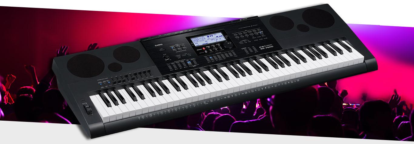 Casio WK-7600 với giá bán lẻ là 13.105.000 đồng