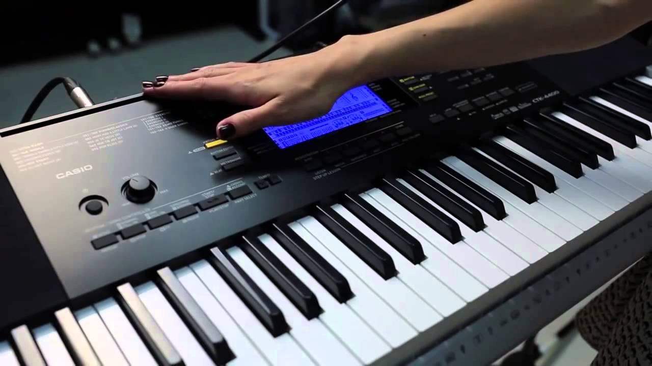 Casio Organ CTK-4400 giá bán lẻ là 4.917.000 đồng