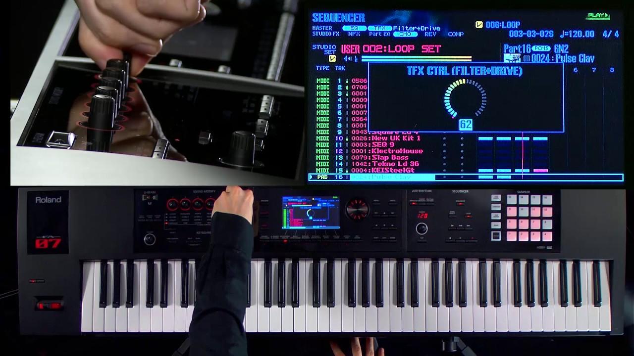 Đàn organ Roland FA-07