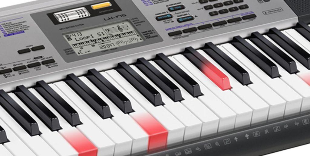 Đàn organ casio Lk series - Đàn organ phím sáng