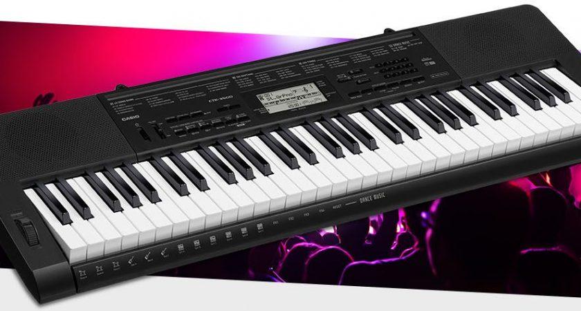 Vì sao nên chọn model đàn organ casio ctk 3500