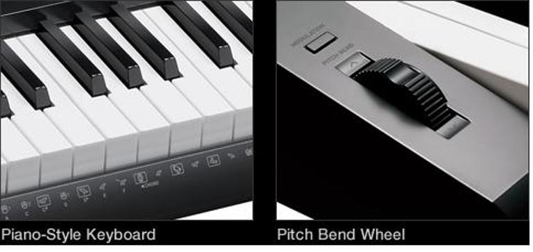 Phím đàn thiết kế dạng hộp Piano