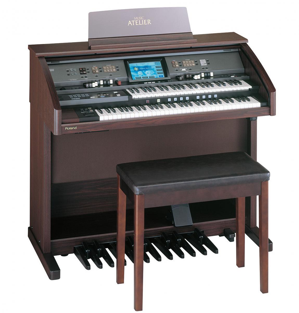 bán đàn organ 2 tầng Roland AT-500