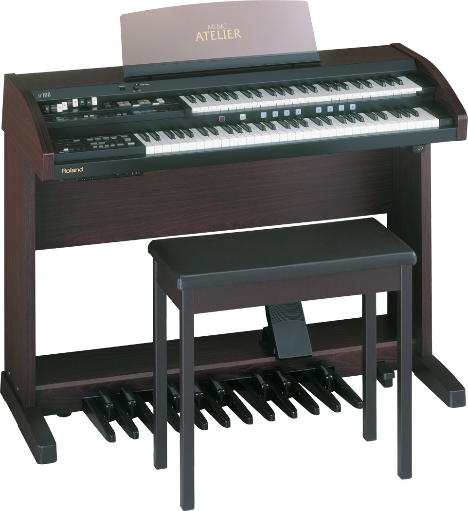 Đàn organ 2 tầng Roland AT-100 dành cho nhà thờ