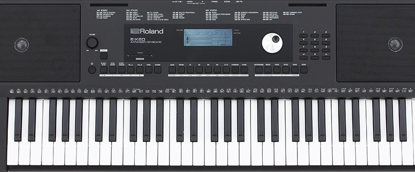 Đàn organ Yamaha PSR E453 với đàn organ Roland EX20  loại nào tốt hơn
