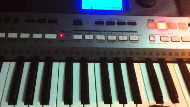 thu âm đàn organ