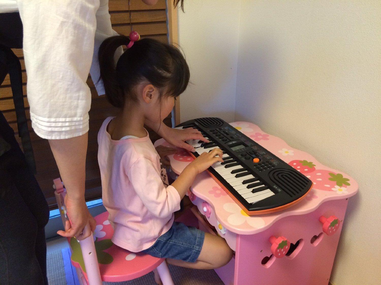Đàn Organ Mini Casio Cho Bé Thơ